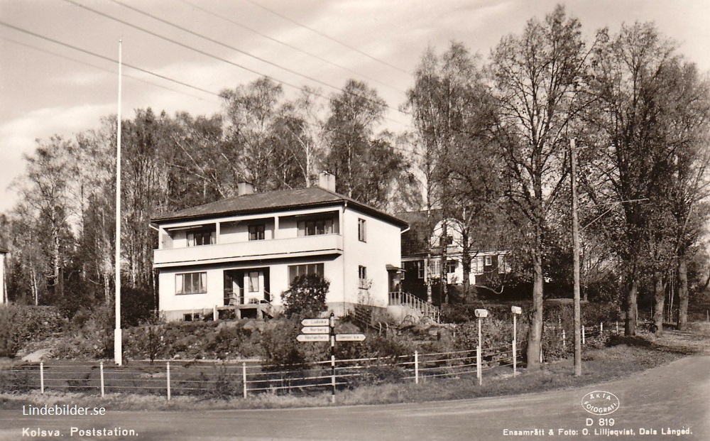 Köping, Kolsva. Poststation