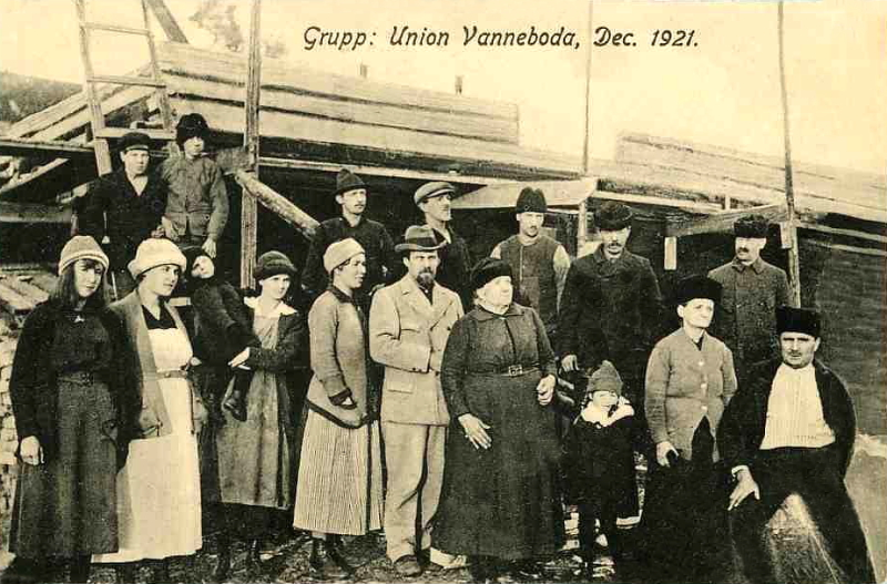 Vanneboda, Grupp Union , December 1921