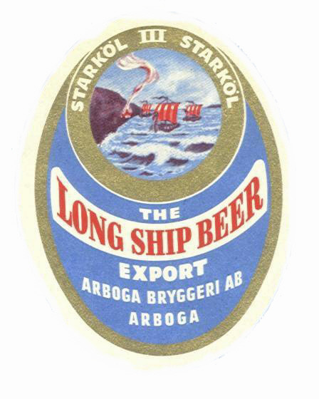 Arboga Bryggeri StarkÖl Klass III Long Ship Beer Export