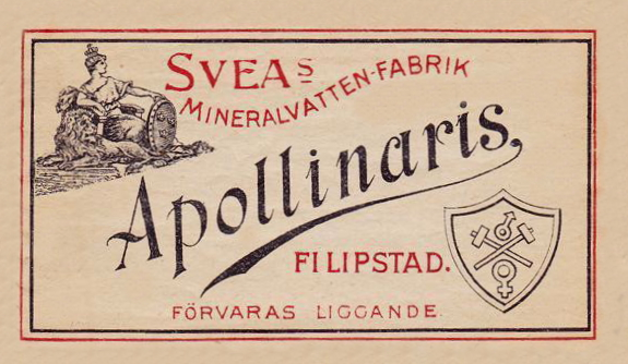 Filipstad, Sveas Mineralvattenfabrik, Apollinaris