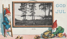 Arvika, God Jul 1917