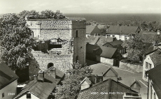 Gotland, Visby Helge Ands ruin 1952