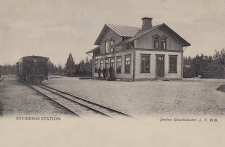 Nora, Stribergs Station 1900